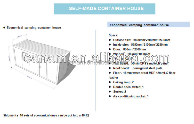 CANAM-prefab modular indonesia container house
