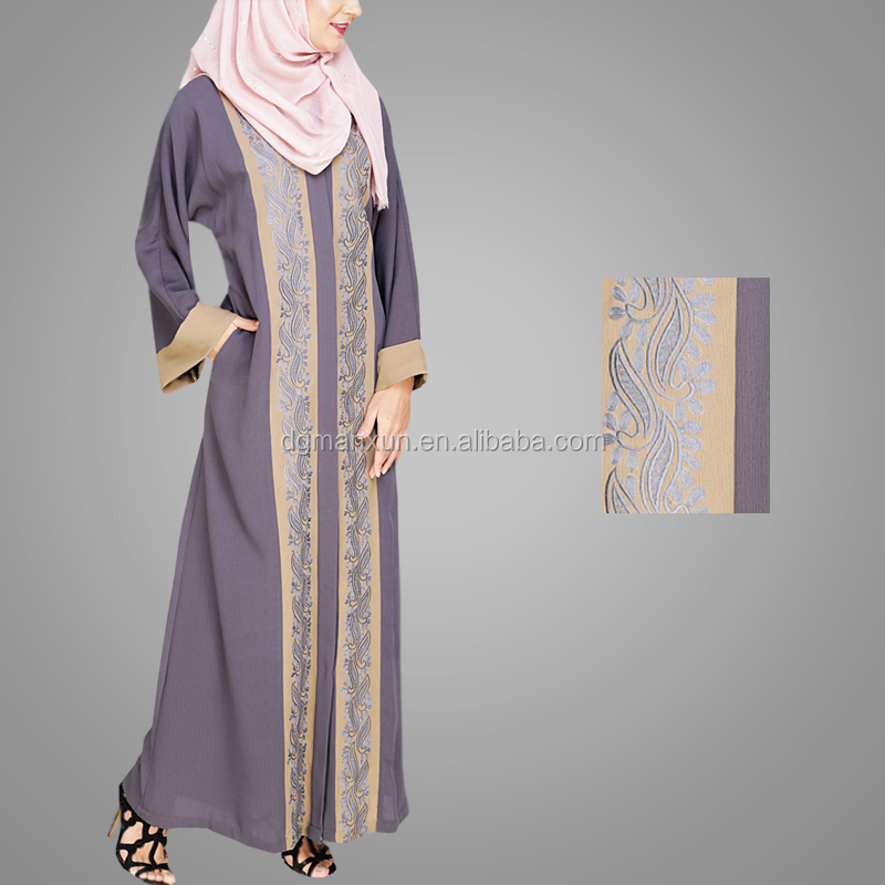 New Style Open Sexy Girl Full Photo Fashion Most Beautiful Embroidery Open Abaya Pakistani Designer Cheap Long Cardigan