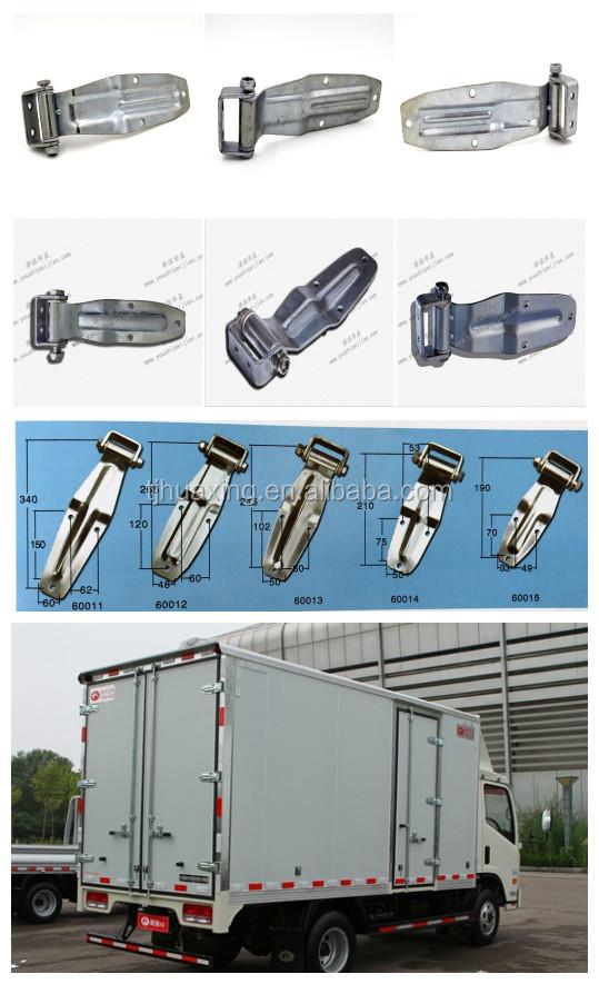 Đúc thép không gỉ phụ tùng phía sau cửa bản lề xe tải trailer cơ thể curtain side xe tải hộp công cụ bản lề