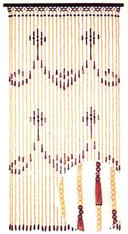 90 180 cm en bois perles rideaux de porte ridaux stores volets id de produit 379040748 - Rideaux en perles de bois ...