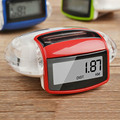 New hot Red Camtoa Solar Energy Running Pedometer Odometer Calorie Meter Sport Step Counter Fitness Caculator