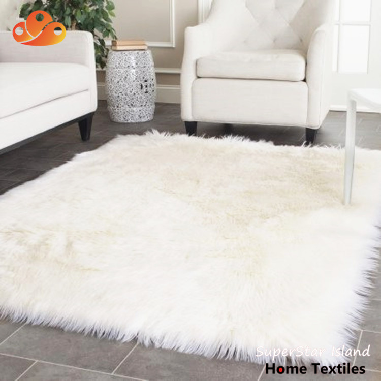 Faux Fur Rug White Supplieranufacturers At Alibaba