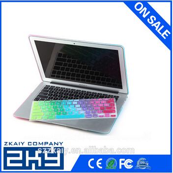 OEM Welcome Silicon Keyboard Cover for Mac book,New Style of Dustproof Silicone Keyboard Cover for Mac