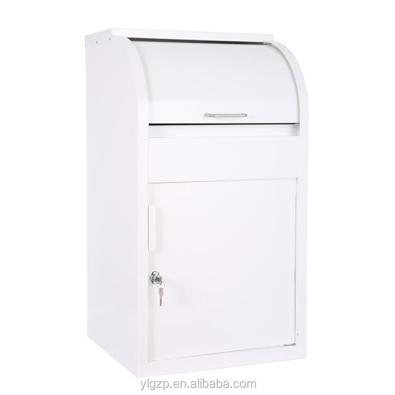 alibaba express Galvanized steel new development and design parcel drop box