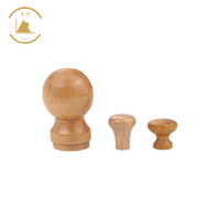 Factory Direct Hot Sale Wood Knob Solid Wood Knobs