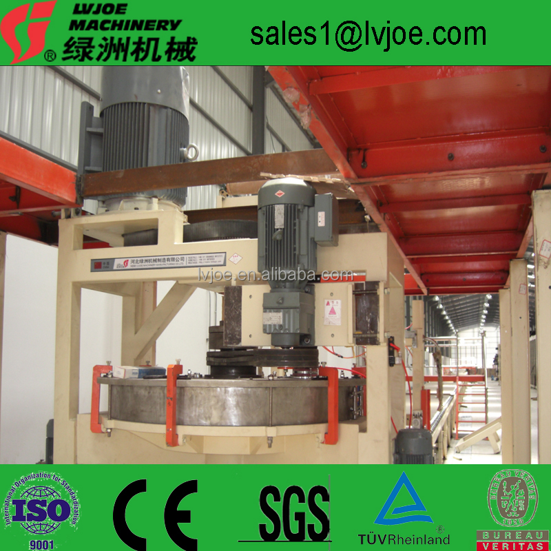 qualified gypsum board/sheets production line/ making machine/manufacturing plant