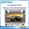 ZESTECH Hot Selling autoradio touch screen gps navigation 2 din car gps for Mazda 8