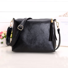 Brand designer women bag soft leather fringe crossbody bag shoulder women messenger bags desigual candy color A866