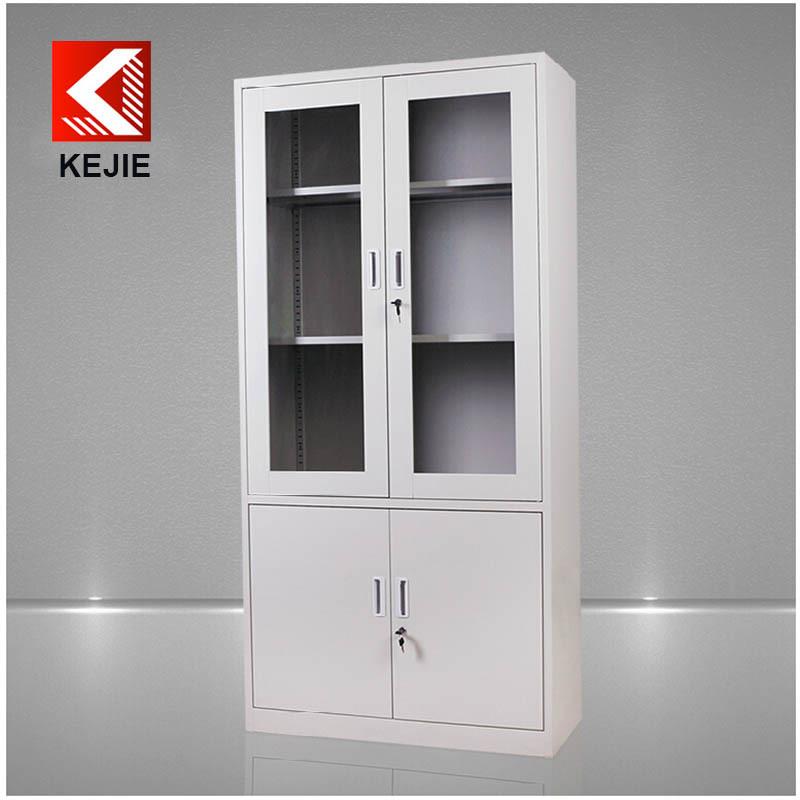 Storage cabinets lockers used hospital two doors