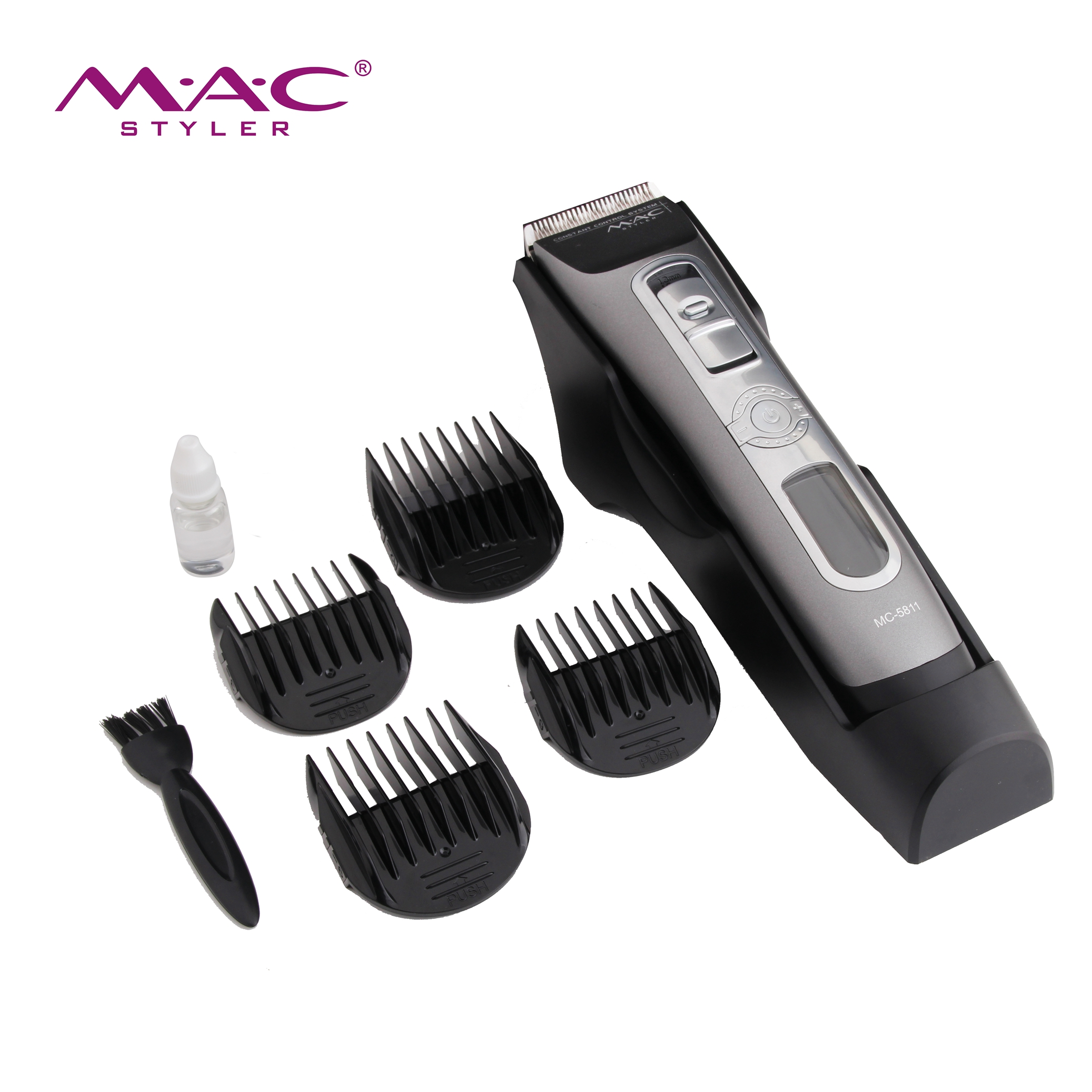 Charging for 3 hours and working 4 hours hair clipper best professional custom hair clippers