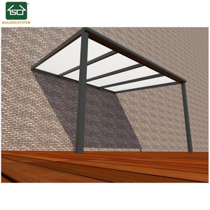 China manufacturers Retractable aluminum patio cover/ awnings/ pergolas