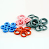 Food grade colorful silicone rubber o ring