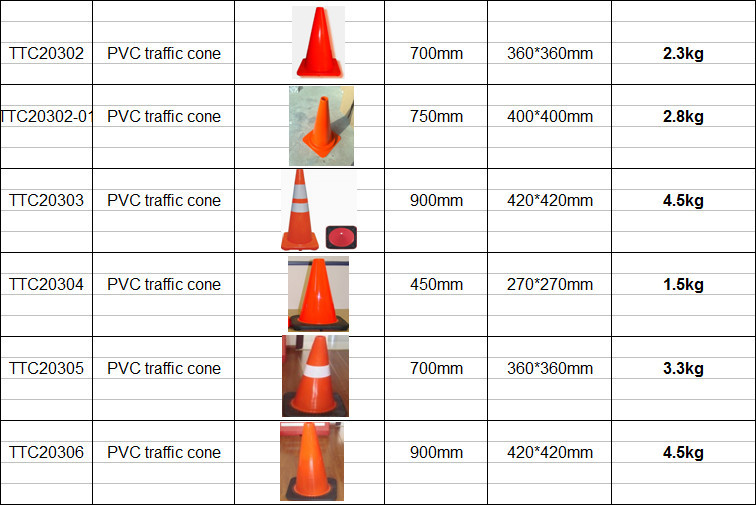 Good Quality Traffic Cone Road Safety Equipment