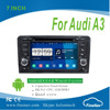 "Quad Core 7"" Touch screen Android4.4.4 Car DVD GPS for Audi A3 S3 RS3 with Gps Navi,3G,Wifi,BT,Ipod,Free map Support DVB-T,DVR"