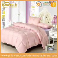 100% Cotton Printed Plain Luxury Quilt Good Quality Down Duvet for Sale