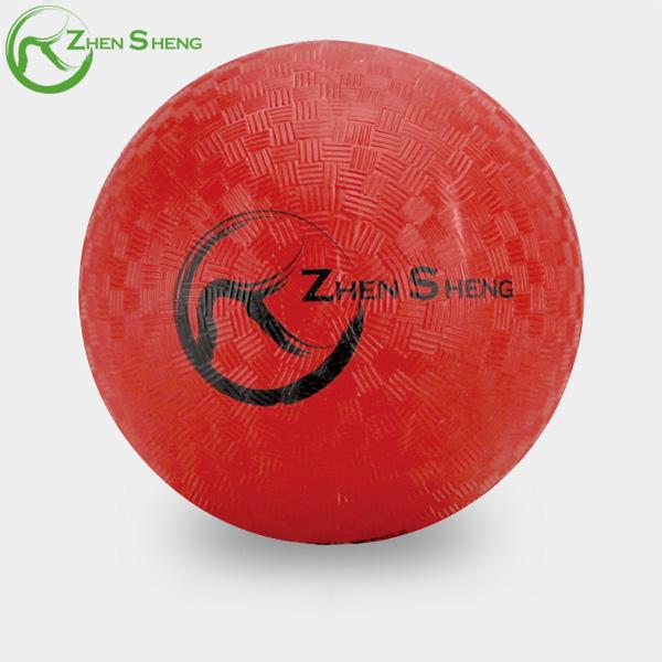 ZHENSHENG custom kick ball rubber ball playground ball