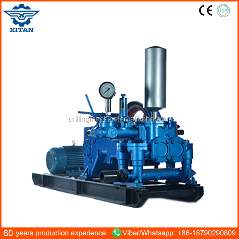 BW120 2 Horizontal double cylinder reciprocation double acting piston pump