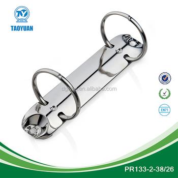 Metal 2-o Ring File Clip/round Ring Binder Clip For 2 Ring Binder ...