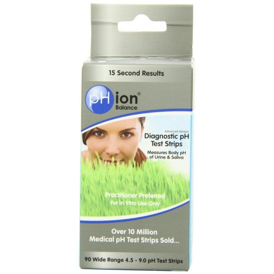 90-Count Ideal Popular pH Balance Test Strips Urine and Saliva Sensitive Check Diagnostic Kit 4.5-9.0 Wide Range