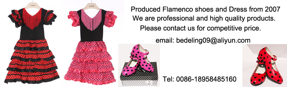 Girls Shoes Flamenco Schoenen Spanish dance shoes