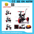 Hot sale 3 in 1 baby tricycle wheel lighting and music children tricycle baby trike