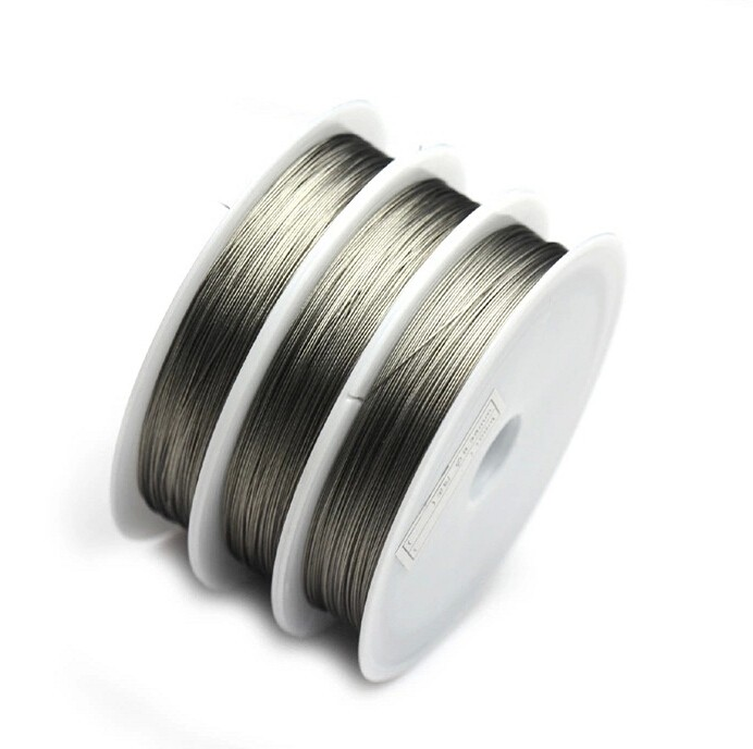 OR 100 m Tigertail Fil 0.45 mm-Beading Wire fabrication de bijoux
