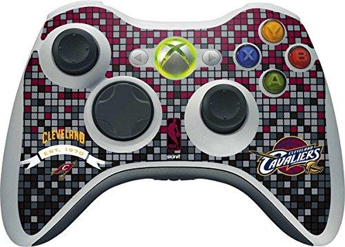 NBA Cleveland Cavaliers Xbox 360 Wireless Controller Skin - Cleveland Cavaliers Digi Vinyl Decal Skin For Your Xbox 360 Wireless Controller