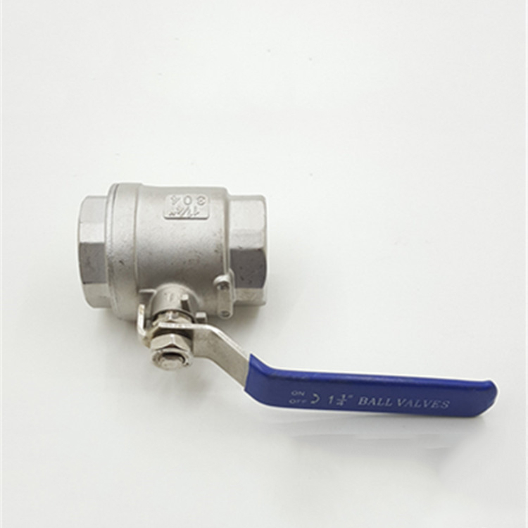 2pc ball valve SS304 SS316 small water switch stainless steel ball valve