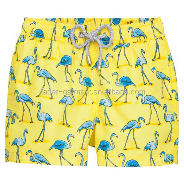 New arrival full printed beach shorts for boys