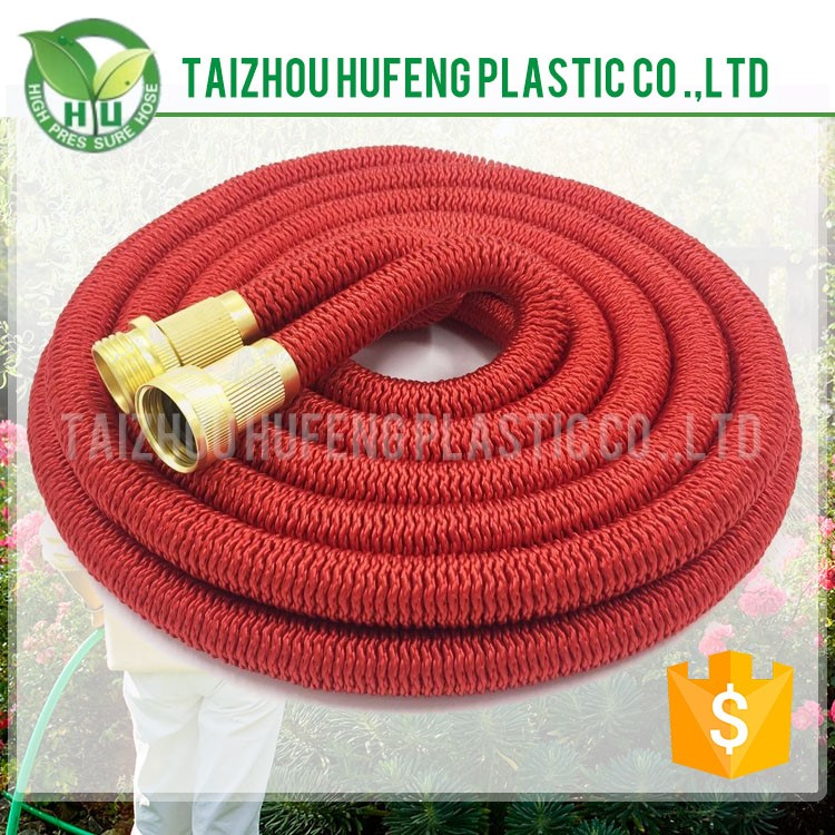 Brass Fitting Expandable Garden Hose Brass Fitting Expandable