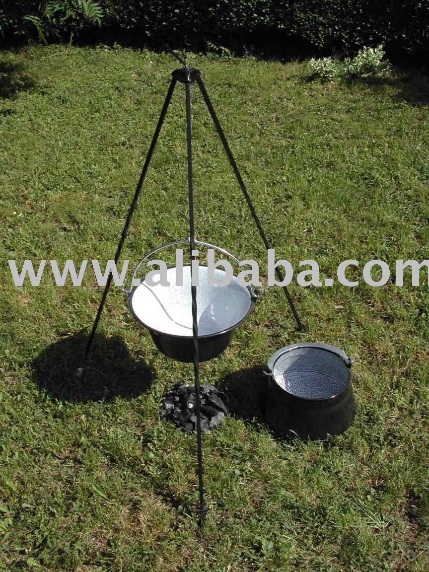Outdoor Cooking Pots Bogracs Kessel Gulasc