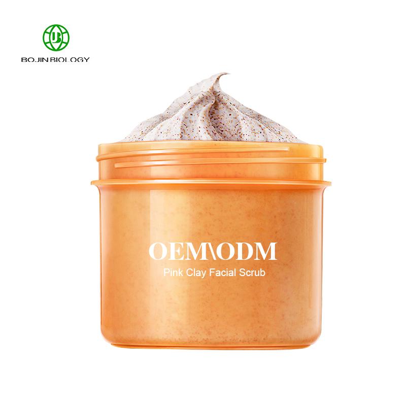 Moisturizing whitening moisture Organic exfoliating Face private label facial scrub