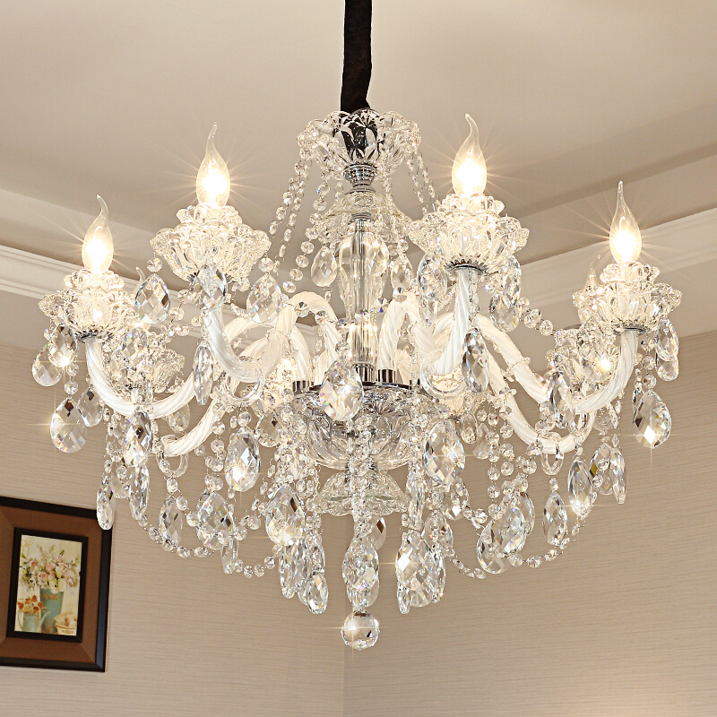 Luxury post-modern chandeliers high quality hanging pendant light contemporary decorative crystal chandeliers pendant lights