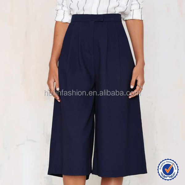 alibaba pants women pants plain fabric fashion pants women culottes