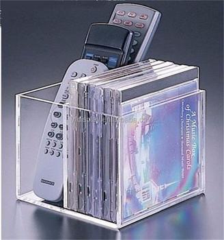 Customer Design Cuboid Acrylic CD Storage Box & Customer Design Cuboid Acrylic Cd Storage Box - Buy Plastic Cd ...