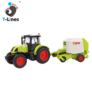 1:16 friction farmer combine toy harvester