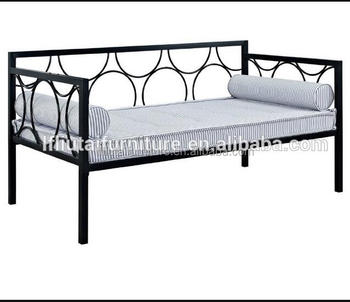 Factory Price Rebecca Twin Size Daybed With Metal Frame
