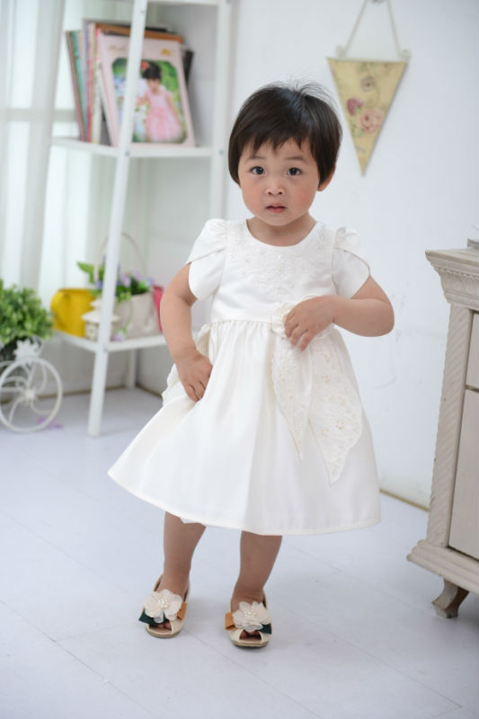 2013 fashion bead embroidery baby clothing china for 1-3y