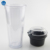 24oz Double Wall Plastic Tumbler with Food Storage & Straw