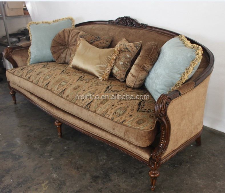 Living Room Furniture: Antique Sofa Set For Living Room,Arab Style Fabric