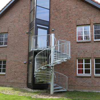 Factory Price Spiral Stairs Salable In India