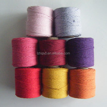 colorful twisted cord paper bakers twine