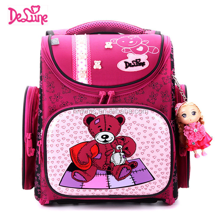 Russia name brand hard shell kids animal school backpack bags