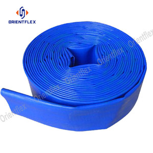 High pressure agriculture irrigation 1-1/4 4 8 10 inch pvc lay flat hose for water transfer