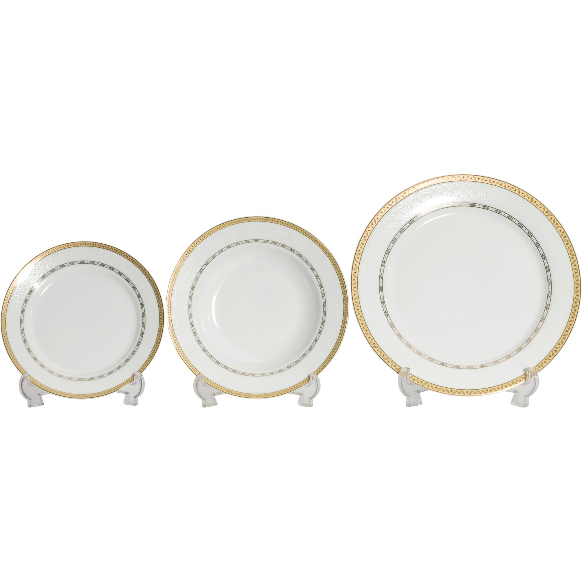 Hotel,Restaurant Home Round Plate Porcelain,Ceramic Dinnerware