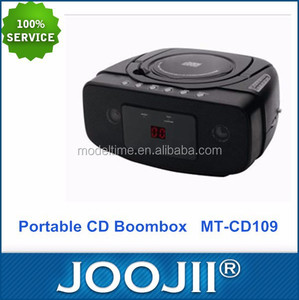 2015 New Coming Radio CD Player Boombox with MP3 USD SD Aux-in