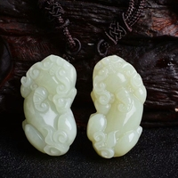 The newest product Hetian jade Pixiu crystal Pendant for healing