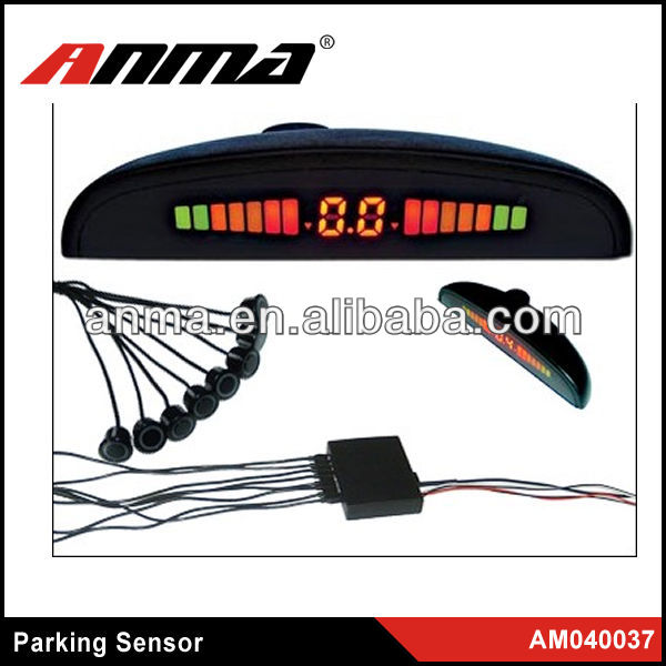 2013 new real view car parking sensor front rear wireless parking sensors