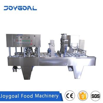 JOYGOAL factory price high quality bubble tea cup filing and sealing machine