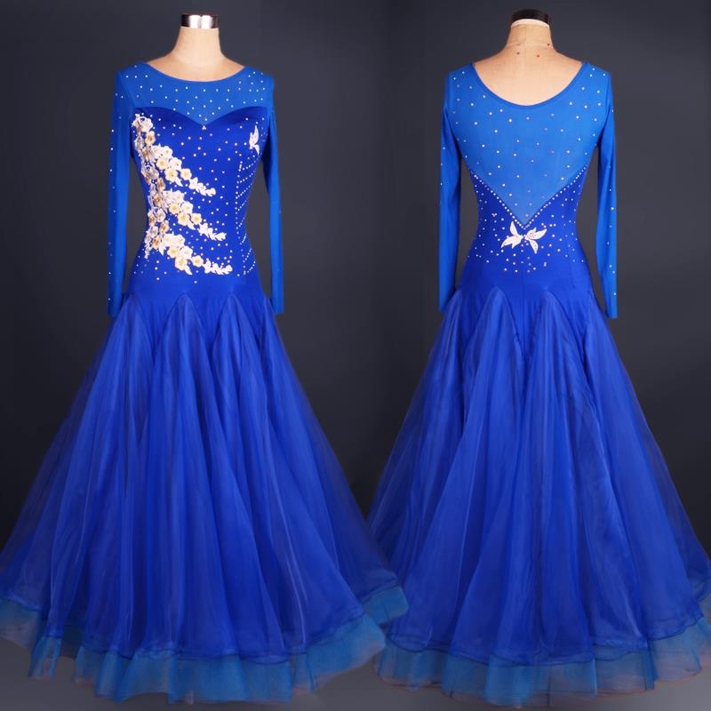 ladies ballroom dance dress standard for women costumes ...